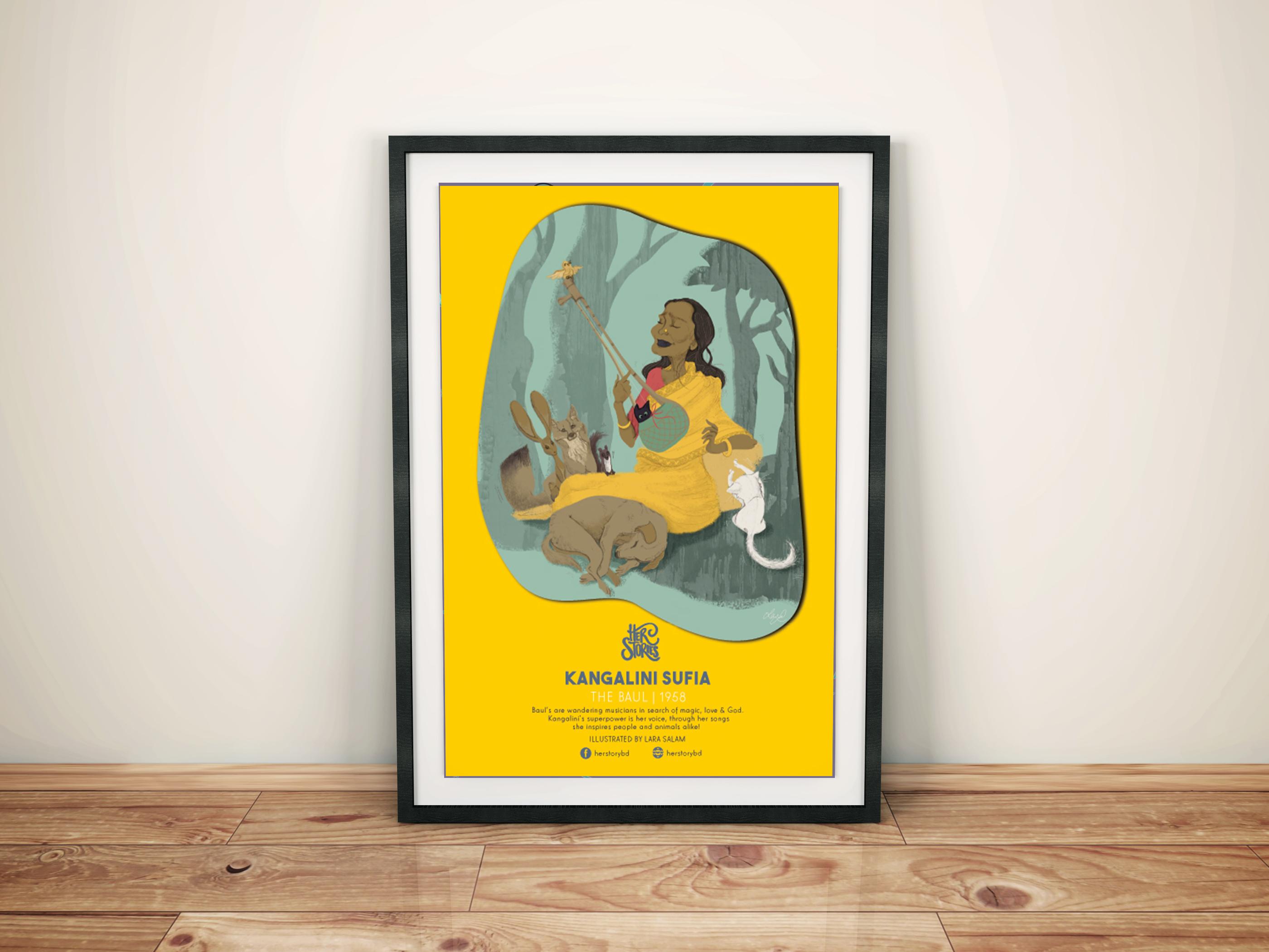 Kangalini Sufia Poster