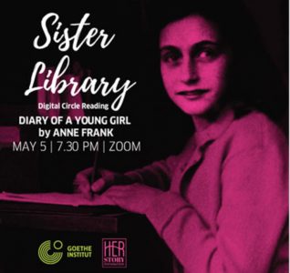 Goethe-Institut, HerStory Foundation to host 'The Diary of A Young Girl'