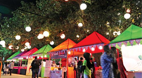 Homegrown Supergirls at Dhaka Lit Fest